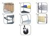 JAKEN WIRE SHELVING - CHROME ACCESSORIES