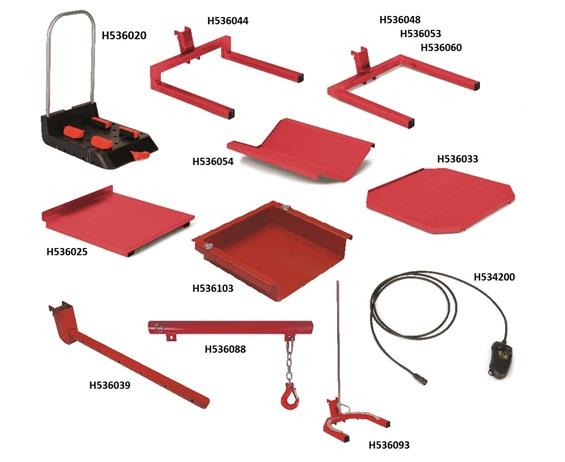 LIFTPLUS® ATTACHMENTS AND OPTIONS