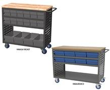 LOUVERED CART